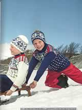31505- Norwegian Cross Country Team - Child's pattern