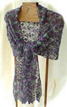 Scotch Thistle Lace Stole